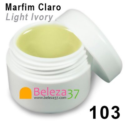 GEL DE COR 103 – Marfim Claro (Light Ivory)