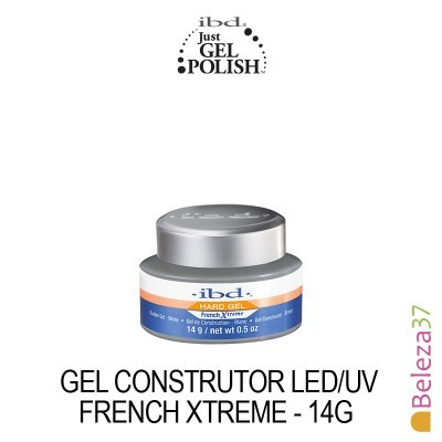 IBD – Gel Construtor LED/UVFrench Xtreme (Branco Cal) 14g