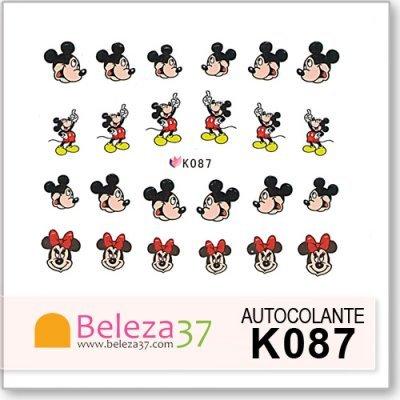 Autocolantes do Mickey da Disney (K087)