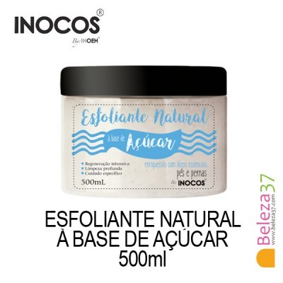 Esfoliante Natural Inocos à Base de Açucar 500ml