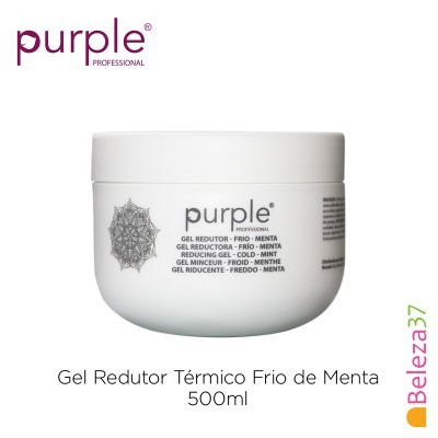Gel Redutor Térmico Frio de Menta Purple 500ml