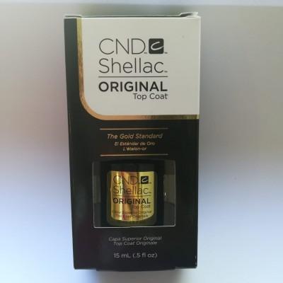 CND SHELLAC - Top Coat Original 15ml