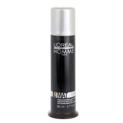 Pasta L'Oréal Homme Mat Fix Force 4 80ml