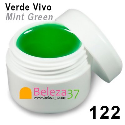 GEL DE COR 122 – Verde Vivo (Mint Green)