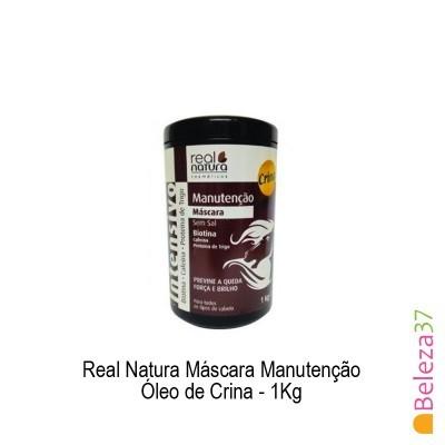 Máscara Real Natura - Manutenção Óleo de Crina 1Kg