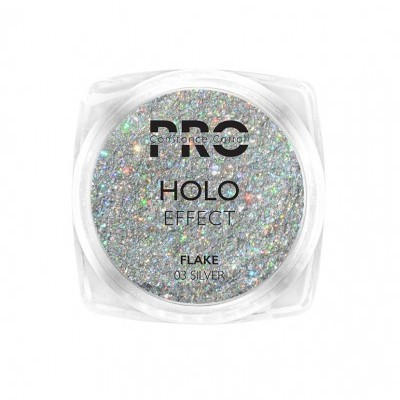 Pigmento Holographic Flake Constance Carroll - Silver 03