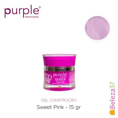 Gel Construtor Purple Queen Sweet Pink – Rosa 15g