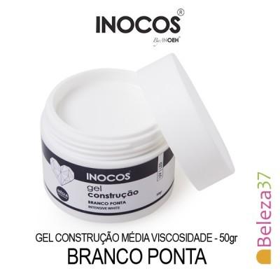 Gel Construção Inocos Média Viscosidade - Branco Ponta 50g