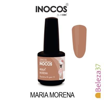 Verniz Gel Inocos 162 – Maria Morena (Castanho Avelã)