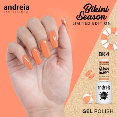 Verniz Gel Andreia BK4 – Coral Néon