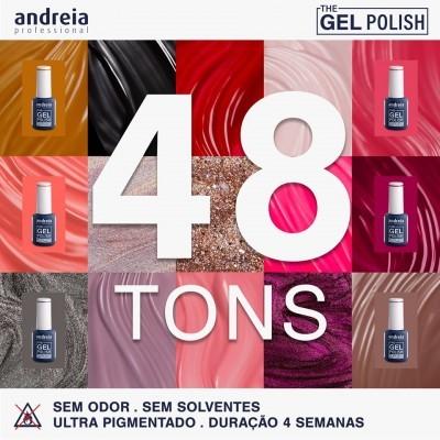 Coleção Completa The Gel Polish Andreia - 48 Tons (Primer + Base/top Oferta)