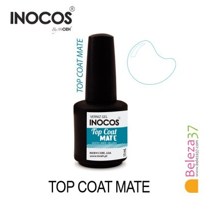 Top Coat Mate Inocos - Efeito Mate Veludo 15ml
