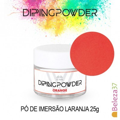 Dipping Powder Orange 25g (Pó de Imersão Laranja)