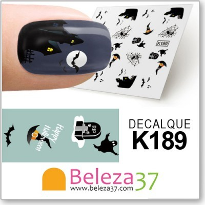Decalques do Halloween (K189)