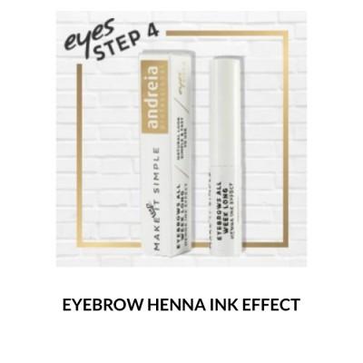 Andreia Eyes 4 - EYEBROWS ALL WEEK LONG - Henna Ink Effect