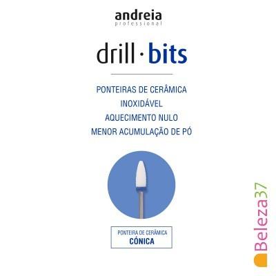 Broca / Ponteira de Cerâmica Andreia - Cónica