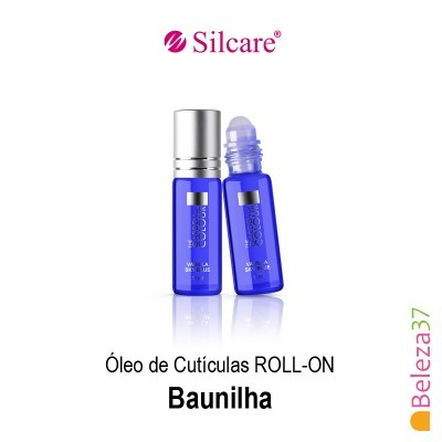 Óleo de Cutículas Roll On Silcare 11ml - Baunilha