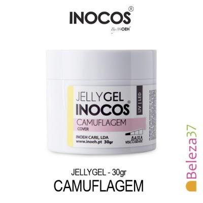 Jellygel Inocos - Gel Construção Camuflagem 30g