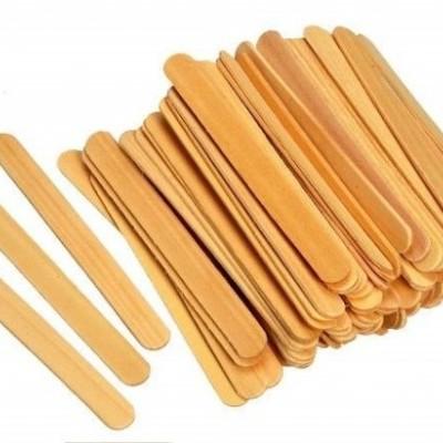 Espátulas de Depilação para Buço e Sobrancelha - 50 unidades