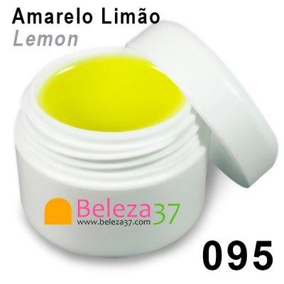 GEL DE COR 095 – Amarelo Limão (Lemon)