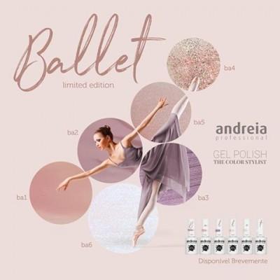 """Verniz Gel Andreia – 6 Cores da Coleção """"Ballet"""""""