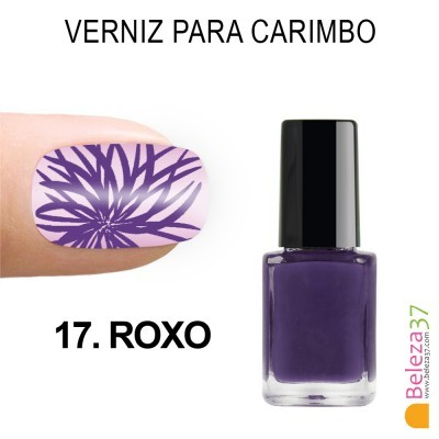 Verniz para Carimbo - 17. ROXO