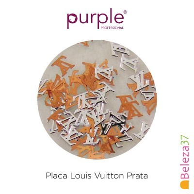 Placa Louis Vuitton Prata