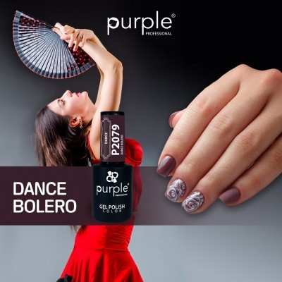 Verniz Gel PURPLE P2079 – Dance Bolero