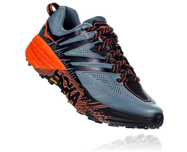 Hoka One One Speedgoat 3 - Stormy Weather / Tangerine Tango