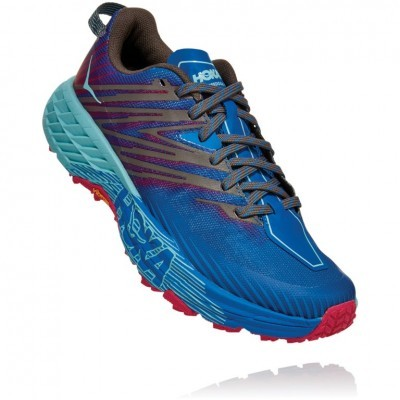Hoka One One Speedgoat 4 Woman - Imperial Blue/Pink