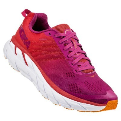 Hoka One One Clifton 6 Woman - Poppy Red / Cactus Flower