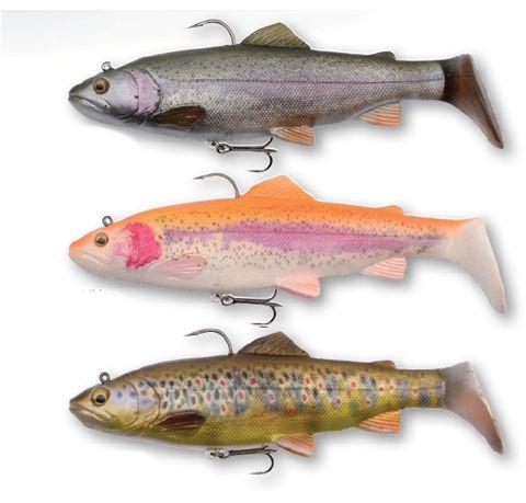 Amostra Savage Trout Rattle Shad 12.5Cm