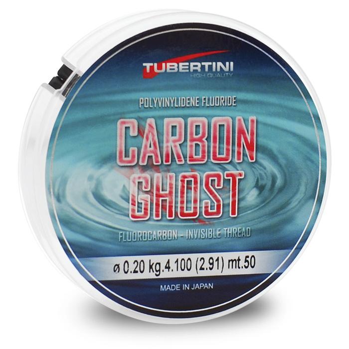 Fio Fluorcarbon Tubertini Carbon Ghost 50M