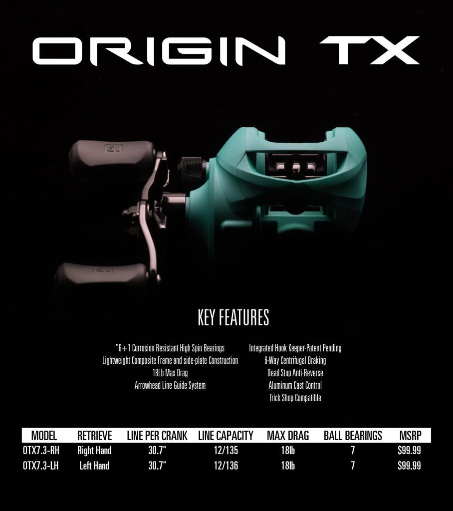 Carreto 13 Fishing Origin Tx
