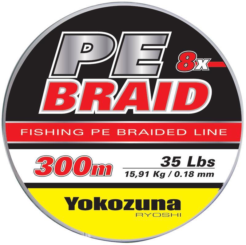 Fio Multi-filamentos Yokozuma PE BRAID 8X