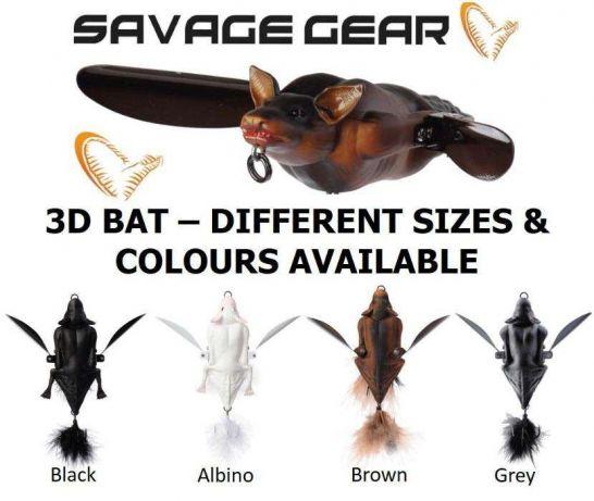 Amostra Savage 3D Bat 7Cm