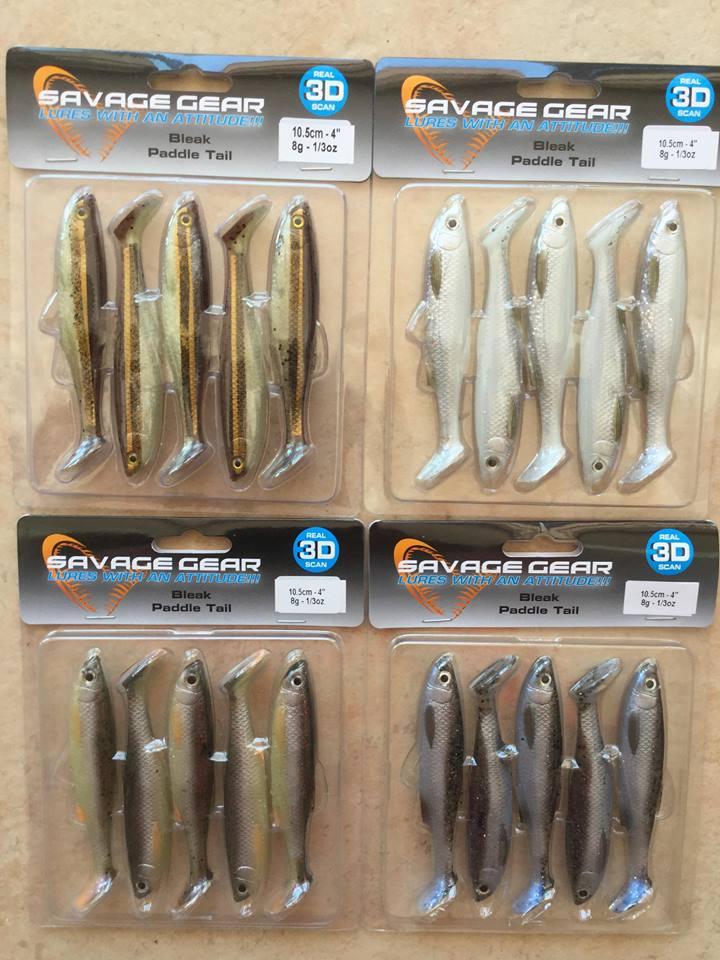 Amostra Savage Gear Bleak Paddle Tail