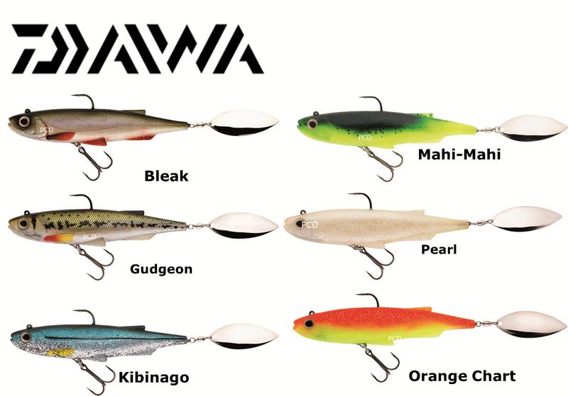 Daiwa Spintail Shad 100