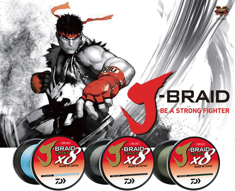 Fio Daiwa J-BRAID GRAND X8