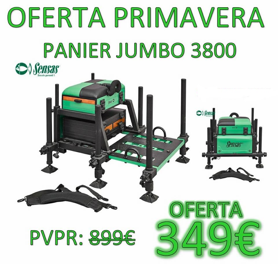 Panier Sensas Jumbo 3800