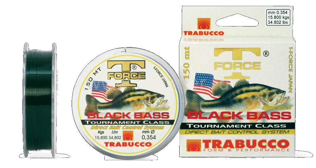 Fio Trabucco T-Force Black Bass