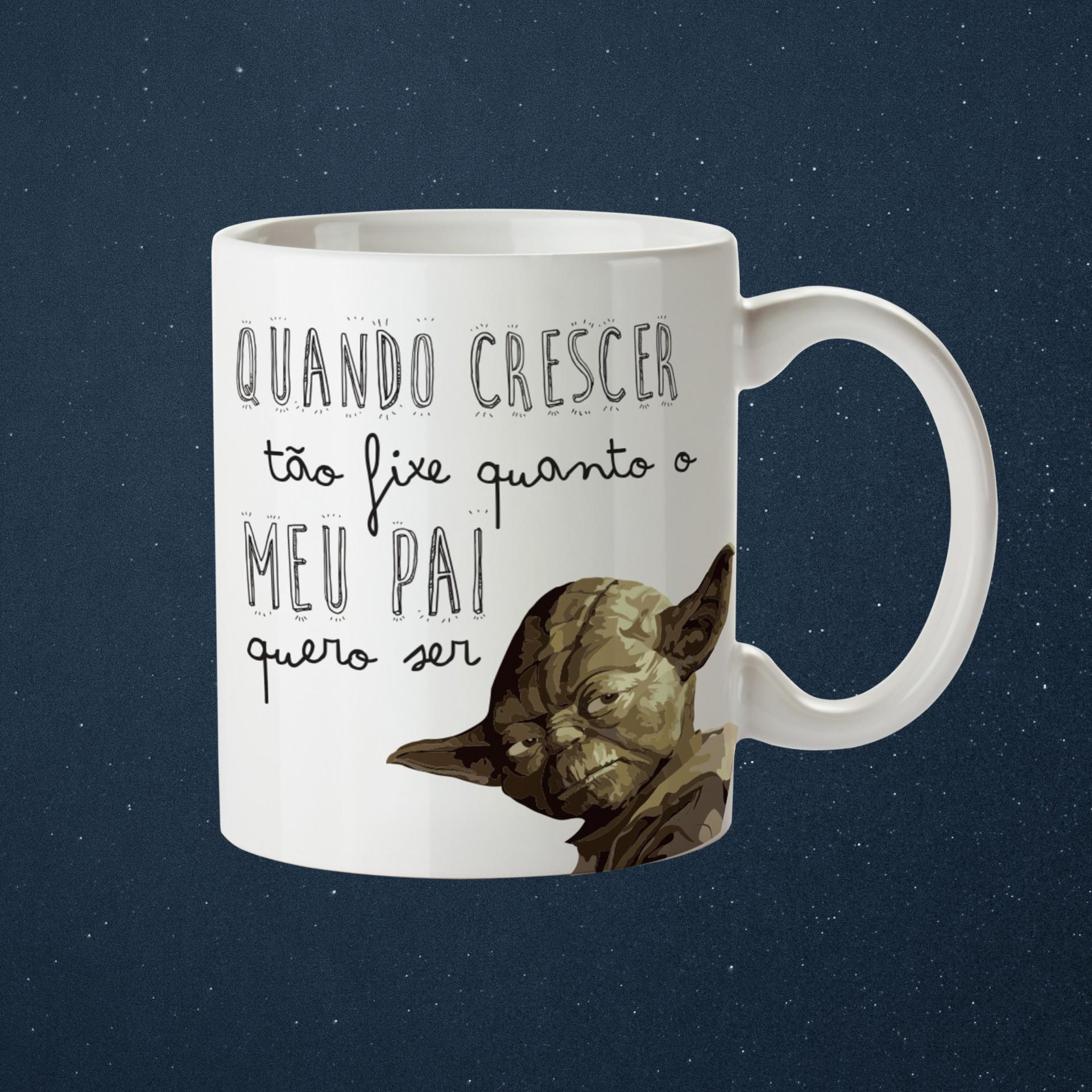 Caneca Yoda