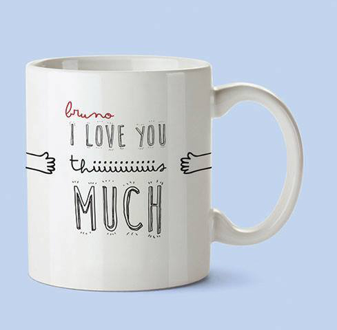 Caneca I Love You This Much