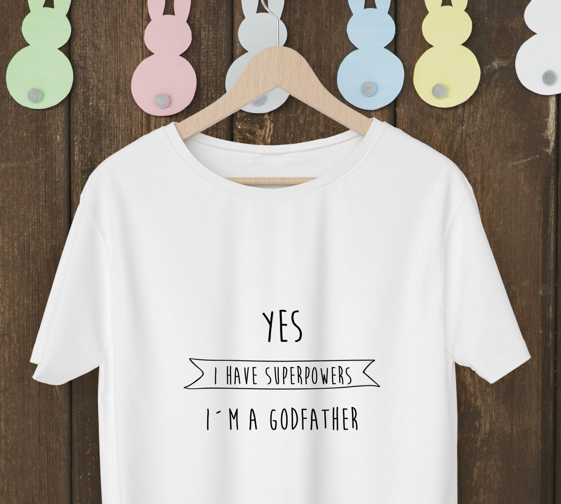 T-shirt para o Padrinho