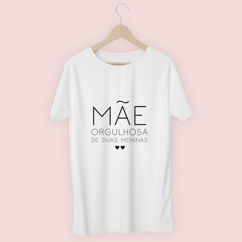 T-shirt personalizada Mãe Orgulhosa