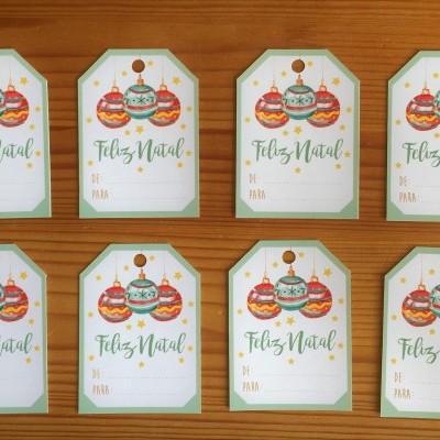 Etiquetas de cartão