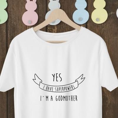 T-shirt para a Madrinha