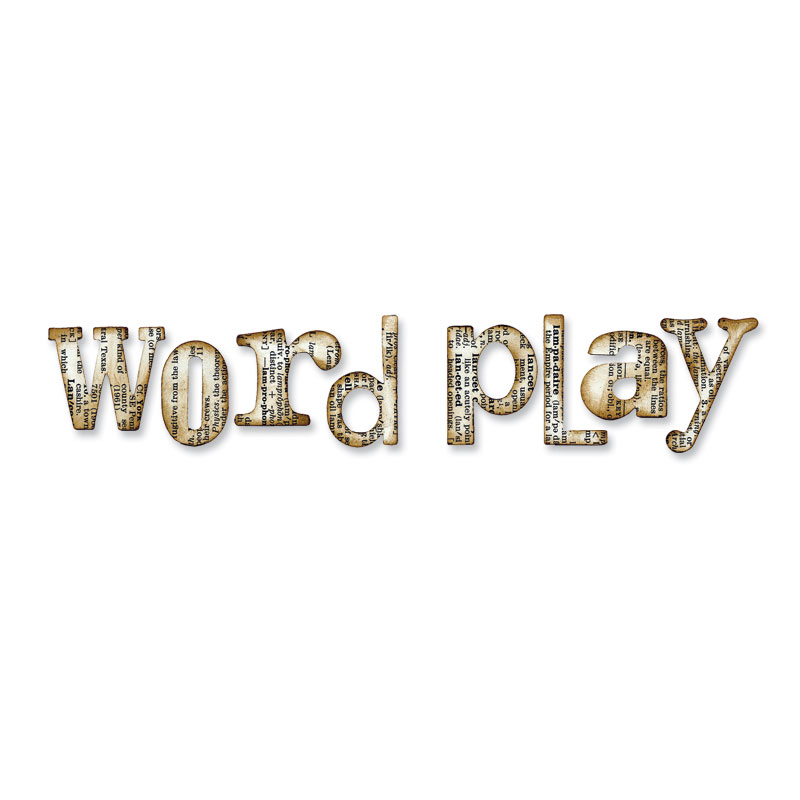 Wold Play Alphabet by Tim Holtz
