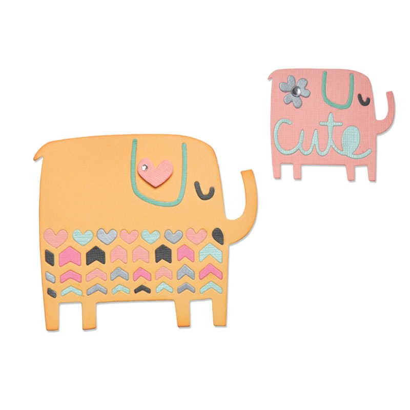 Elephant Duo by Craft Asylum