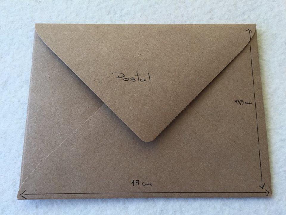 Envelope Kraft POSTAL